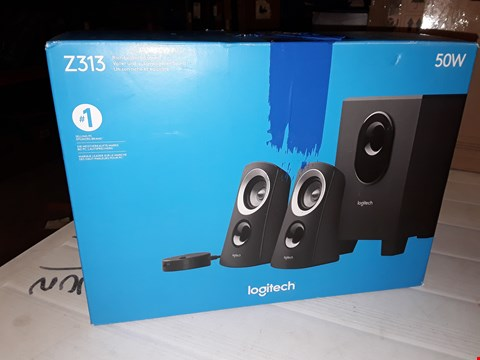 Lot 12440 LOGITECH Z313 STEREO SPEAKERS