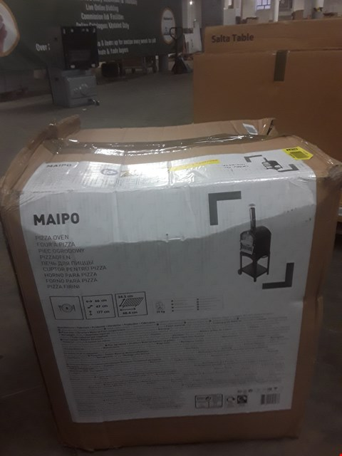 Lot 23 BOXED MAIPO PIZZA OVEN