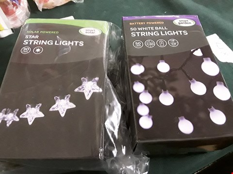 Lot 18039 LOT TO INCLUDE 30 SET AND 50 SET LED STRING LIGHTS RRP £45.00