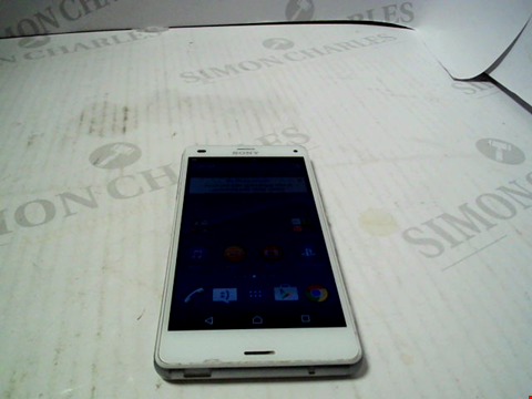 Lot 5280 SONY XPERIA Z3 COMPACT ANDROID SMARTPHONE
