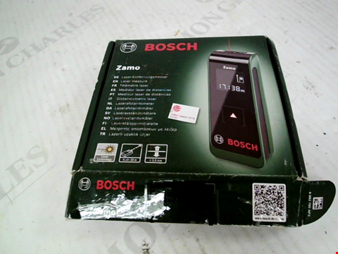 Lot 306 BOXED BOSCH ZAMO LAZER MEASURE