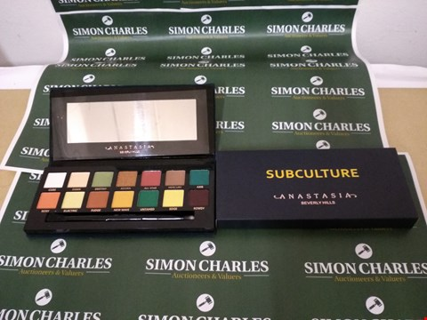 Lot 3 ANASTASIA SUBCULTURE EYESHADOW PALETTE