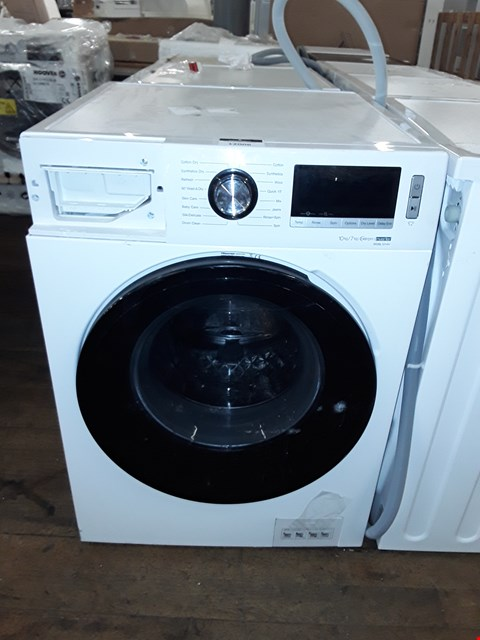 Lot 12006 HISENSE WDBL1014V 10KG / 7KG 1400 WASHER DRYER