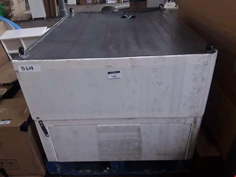 Lot 7060 UNBAGGED 4' SMALL DOUBLE DRAWER DIVAN BASE
