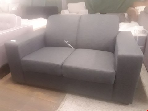 Lot 35 DESIGNER ADA GREY FABRIC TWO SEATER SOFA  RRP £219.99