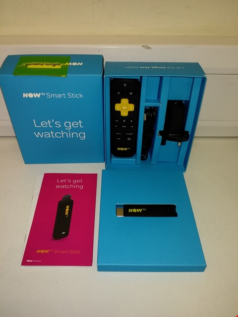 Lot 9569 NOW TV SMART TELEVISION STREAMING STICK