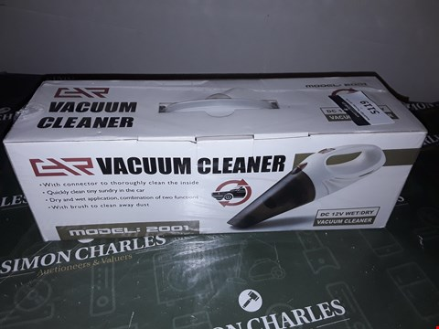 Lot 5119 12 V CAR VACUUM CLEANER MODEL NO 2001