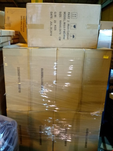 Lot 124 PALLET OF 5 BRAND NEW NEW KIRKWOOD MAIN CABINETS (PART 2)