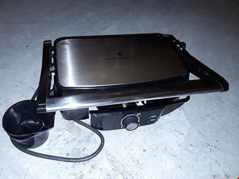 Lot 122 COOKS ESSENTIALS PANINI GRILL