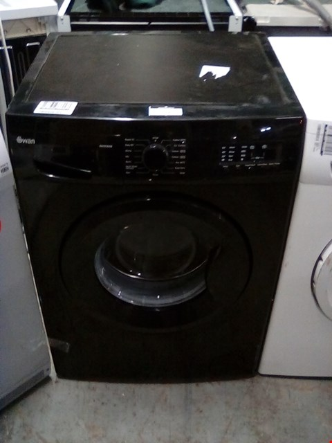 Lot 226 SWAN SW2062B BLACK 8KG 1200 SPIN WASHING MACHINE RRP £439