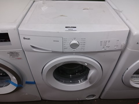 Lot 7015 SWAN SW1580W WHITE 6KG WASHING MACHINE RRP £269.99
