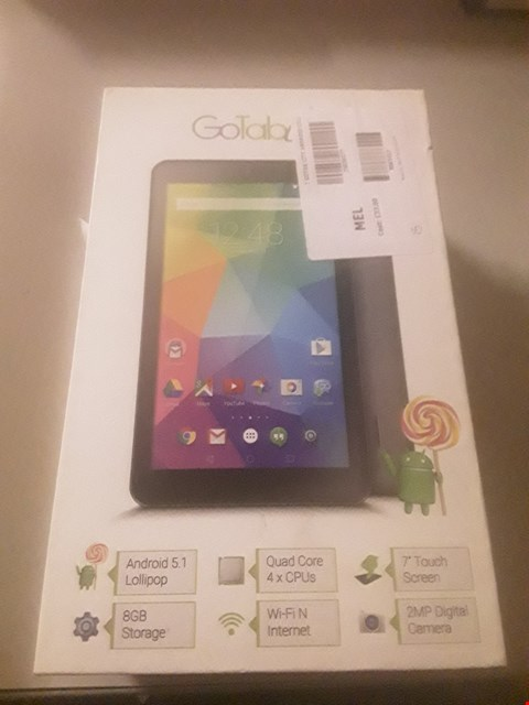 "Lot 4043 BOXED GOTAB 7"" ANDROID TABLET"