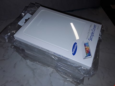"""Lot 6201 LOT OF 10 SAMSUNG GALAXY TAB S SIMPLE COVERS FOR 8.4"""" TABLETS"""