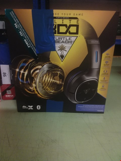 Lot 81 TURTLE BEACH ELITE 800 GAMING HEADSET
