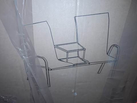 Lot 8510 BOXED HAWAII DUO SEAT - WHITE/GREY