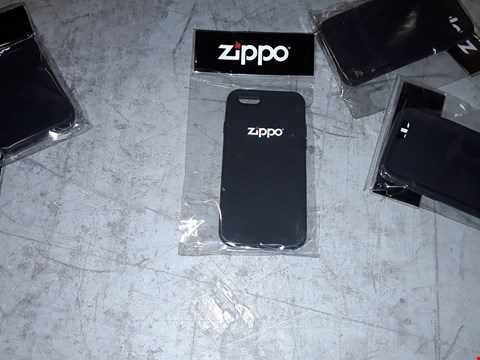 Lot 686 A BOX OF APPROXIMATELY 30 ZIPPO PHONE CASES