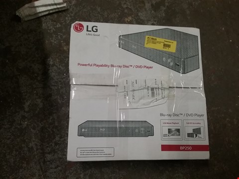 Lot 1317 BOXED LG BLU RAY DISC DVD PLAYER