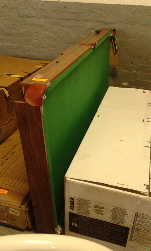 Lot 183 HY PRO SNOOKER TABLE(DAMAGED) RRP £250.00
