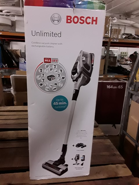 Lot 8397 BOXED BOSCH UNLIMITED CORDLESS VACUUM CLEANER