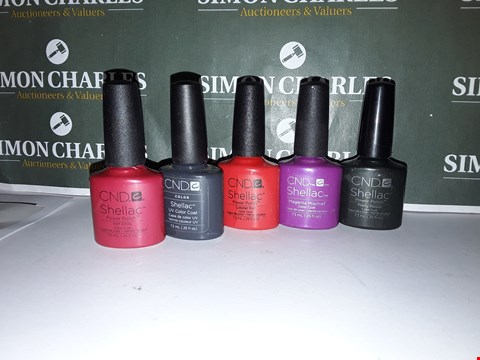 Lot 49 LOT OF 5 ASSORTED CND SHELLAC PRODUCTS