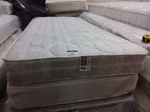 Lot 635 2 UNBAGGED SINGLE MATTRESSES