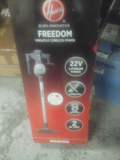 Lot 9574 HOOVER FREEDOM HANDHELD VACUUM CLEANER