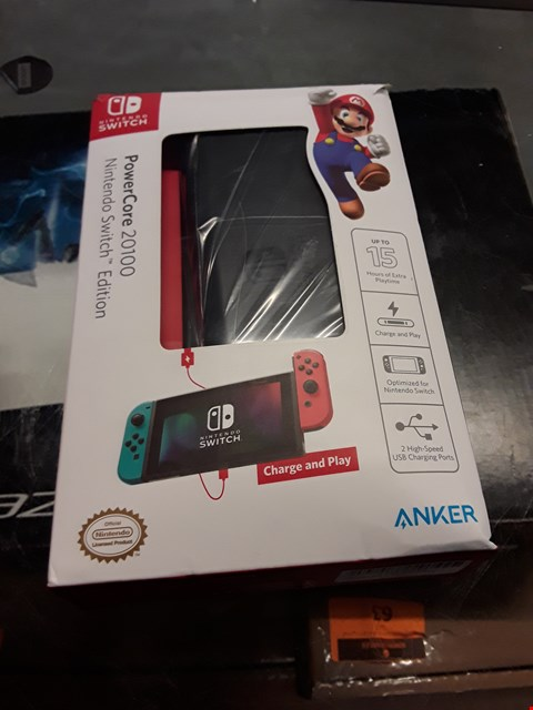 Lot 67 ANKER POWER CORE 20100 NINTENDO SWITCH EDITION  RRP £100.00
