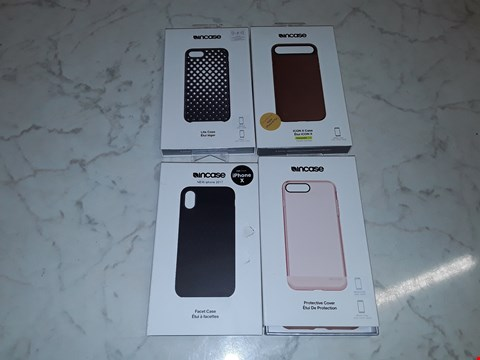 Lot 6122 LARGE QUANTITY OF ASSORTED INCASE MOBILE PHONE CASES INCLUDES CASE FOR IPHONE X