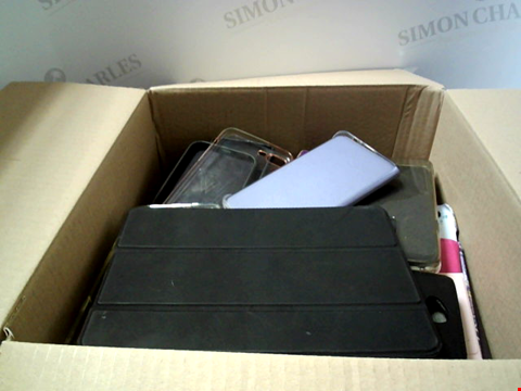 Lot 6214 BOX OF ASSORTED PHONE AND TABLET CASES