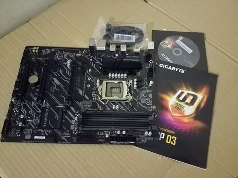 Lot 8008 GIGABYTE Z370P D3 ULTRA DURABLE MOTHERBOARD
