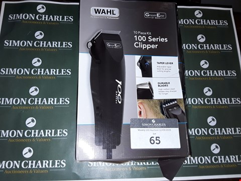 Lot 65 WAHL 10 PIECE KIT 100 SERIES CLIPPER
