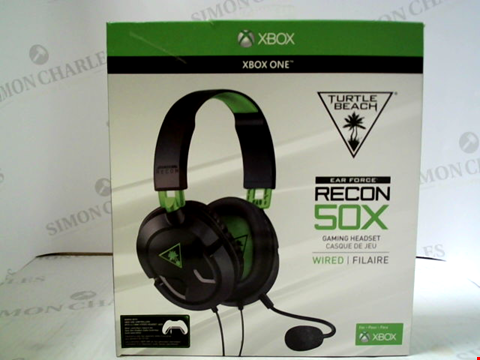 Lot 3176 TURTLE BEACH EAR FORCE RECON 50X WIRED GAMING HEADSET FOR XBOX ONE