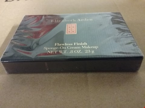 Lot 1267 A LOT OF 2 BRAND NEW BOXES OF ELIZABETH ARDEN FLAWLESS FINISH SPONGE-ON CREAM MAKEUP 8OZ. 23G RRP £40