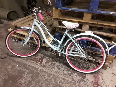 Lot 2363 SCHWINN GIRLS SANCTUARY KIDS BEACH CRUISER BIKE