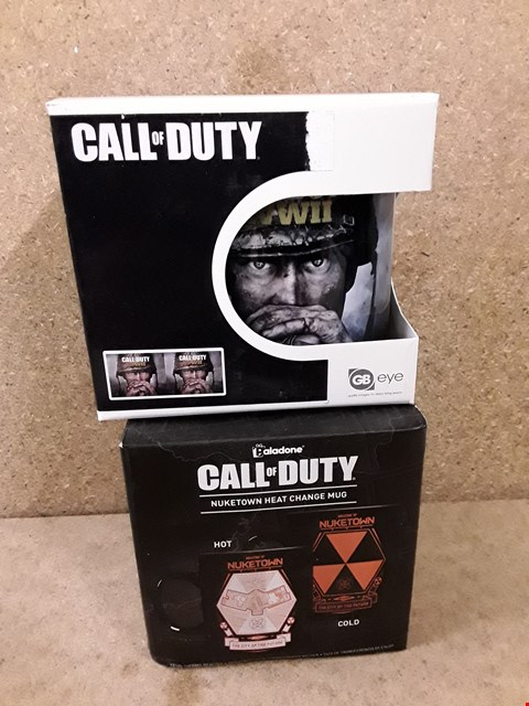 Lot 294 2 BRAND NEW BOXED CALL OF DUTY MUGS