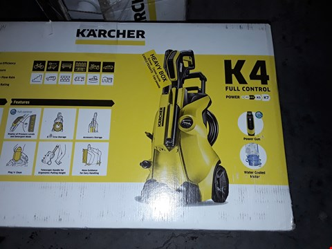 Lot 12575 KARCHER K4 FULL CONTROL HIGH PRESSURE WASHER