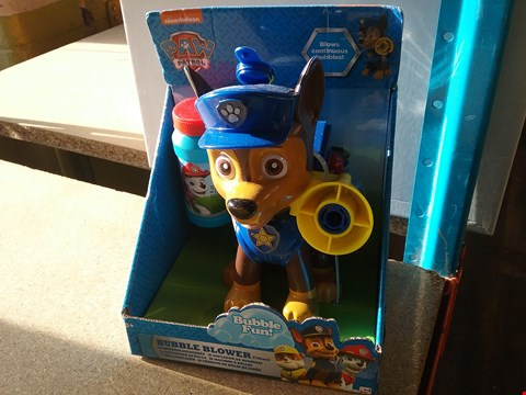 Lot 9051 A PAW PATROL BUBBLE BLOWER