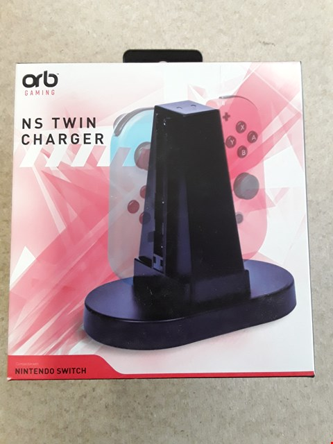 Lot 146 BRAND NEW BOXED ORB NINTENDO SWITCH TWIN CHARGER