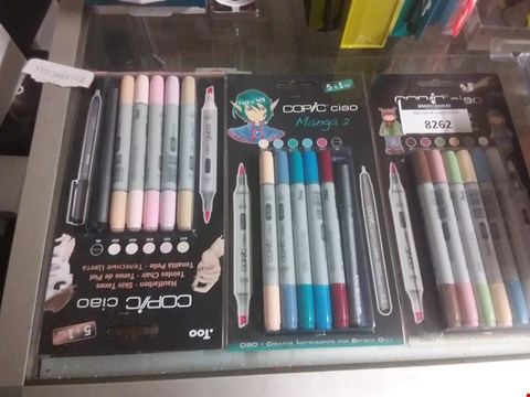 Lot 8262 COPIC CIAO MANGA 2 PENS