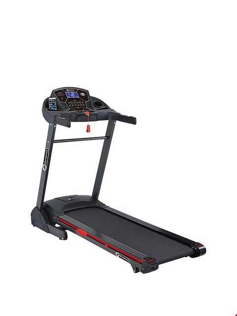 Lot 190 BOXED DYNAMIX T3000C MOTORISED TREADMILL WITH AUTO INCLINE (1 BOX) RRP £499.99