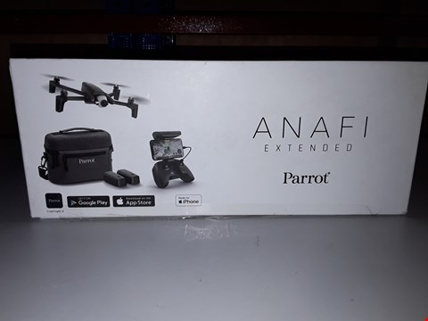 Lot 828 PARROT ANAFI EXTENDED PACK, 4K HDR CAMERA DRONE