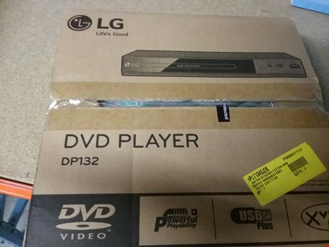 Lot 1603 6 × BOXED LG DP132 DVD PLAYERS