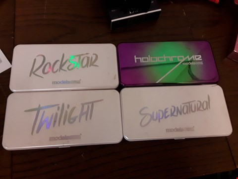 Lot 7090 LOT OF 4 MODELS OWN EYESHADOW PALETTES