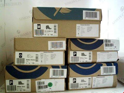 Lot 3047 LOT OF APPROXIMATELY 5 ASSORTED PAIRS OF FOOTWEAR TO INCLUDE; C;LOUDSTEPPERS BY CLARKS IN VARIOUS SIZES