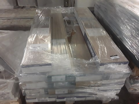 Lot 907 PALLET OF APPROXIMATELY 20 PACKS OF ASSORTED LAMINATE FLOORING TO INCLIDE BALTERIO AND KRONO ORIGINAL