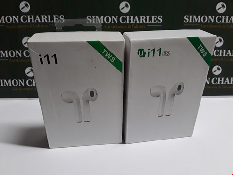Lot 37 LOT OF 2 BOXED SETS OF TWO I11 EARPHONES