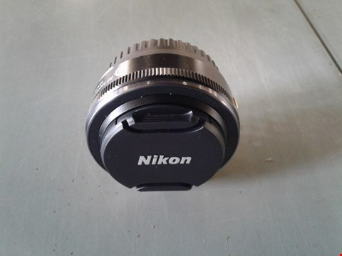 Lot 907 NIKON 1 NIKKOR 10MM F/2.8 CAMERA LENS