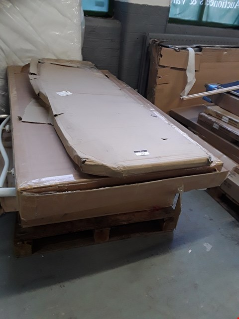 Lot 7017 PALLET OF ASSORTED FLAT PACK FURNITURE PARTS TO INCLUDE BED PARTS ETC
