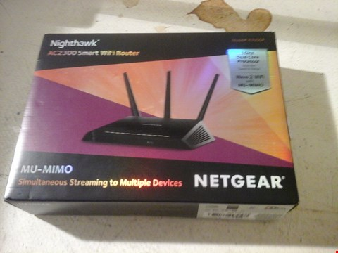 Lot 10 NETGEAR AC2300 SMART WIFI ROUTER
