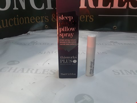 Lot 1344 SLEEP PLUS PILLOW SPRAY 75ML, DEEP SLEEP PILLOW SPRAY 5ML